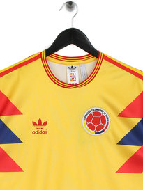 Adidas Colombia World Cup Retro Jersey Yellow