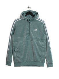 adidas Cozy Half Zip Green
