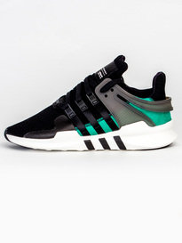 ADIDAS EQUIPMENT SUPPORT ADV TRAINERS BLACK