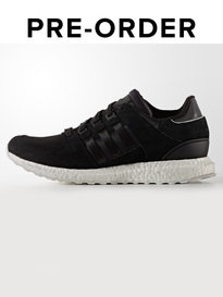 ADIDAS EQUIPMENT SUPPORT TRAINERS BLACK | PRE-ORDER