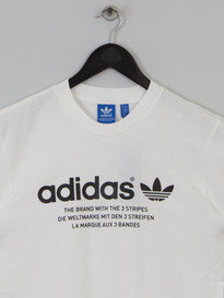 ADIDAS FASHION GRAPHIC TEE WHITE