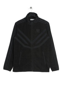 adidas Fleece Tracktop Black