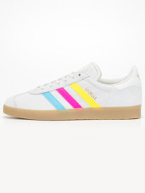 adidas Gazelle Color Stripe Trainer Off White