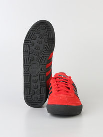 ADIDAS JEANS GTX TRAINERS RED