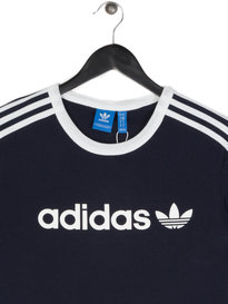 Adidas Linear Short Sleeve T-Shirt Navy