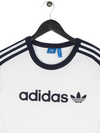 Adidas Linear Short Sleeve T-Shirt White