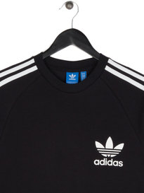 Adidas Long Sleeve Pique T-shirt Black