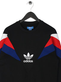 Adidas Neva Crew Neck Sweat Black