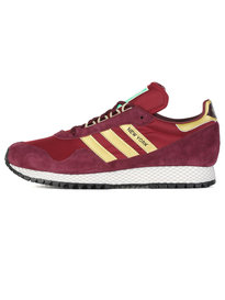 Adidas New York Trainers Maroon