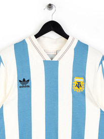 Adidas Argentina World Cup Retro Jersey White