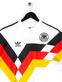 Adidas Germany World Cup Retro Jersey White