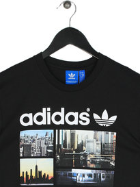Adidas Photo 1 Short Sleeve T-Shirt Black