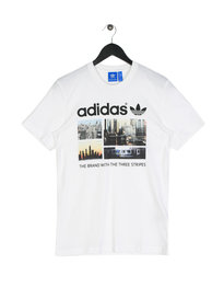 Adidas Photo 1 Short Sleeve T-Shirt White