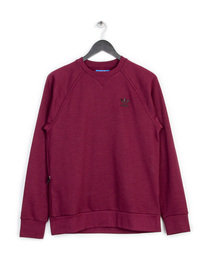 ADIDAS PT CREW SWEAT TOP MAROON