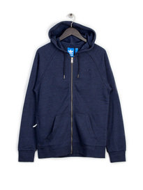 adidas Pt Fz Hooded Sweat Top Navy