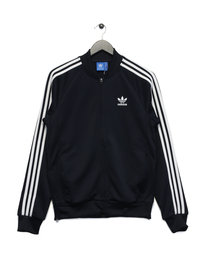 Adidas SST Relaxed Track Top Navy