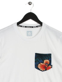 adidas Sweet Leaf Pocket T-Shirt