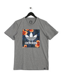 adidas Sweet Leaf T-Shirt Grey