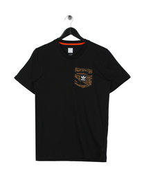 Adidas Camo Pocket T-Shirt Black