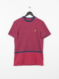 ALLOVER FAIRISLE T-SHIRT Z99 RED