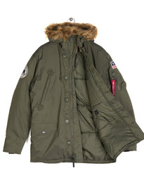 Alpha Industries 123144B Polar Parka Jacket Green