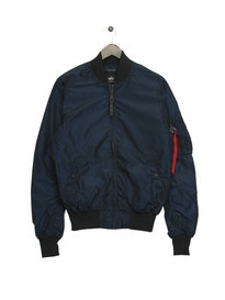 Alpha Industries 176108B MA1 LW  Iridium Jacket Navy