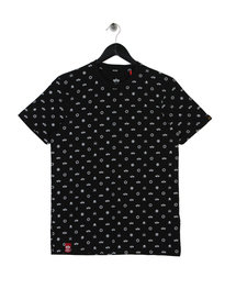Alpha Industries All Over Print T-Shirt Black