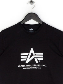 Alpha Industries B-Logo T-Shirt Black