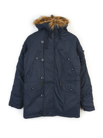 ALPHA INDUSTRIES EXPLORER W/O PATCHES JACKET NAVY