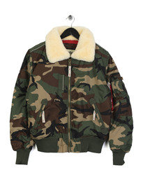 Alpha Industries Injector III Jacket Camo Green
