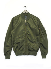 Alpha Industries MA 1 LW Bomber Jacket Green