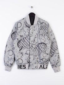 Alpha Industries MA-1 Moon Landing Reversible Jacket Black