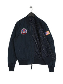 Alpha Industries MA-1 TT NASA Reversible II Navy