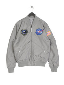 Alpha Industries MA-1 TT Nasa Reversible Jacket Grey