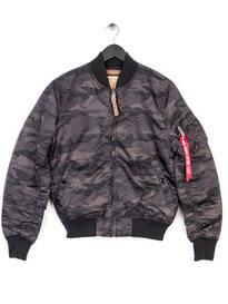 Alpha Industries Ma-1 Vf 59 Bomber Jacket Black Camo