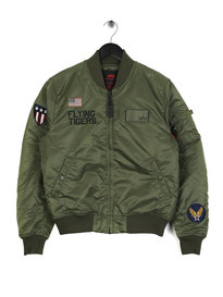 Alpha Industries MA-1 VF Flying Tigers Jacket Sage Green
