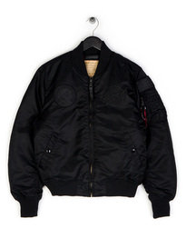 Alpha Industries MA-1 VF NASA Jacket Black