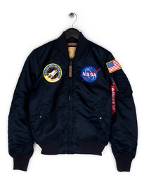 Alpha Industries MA-1 VF NASA Jacket Navy