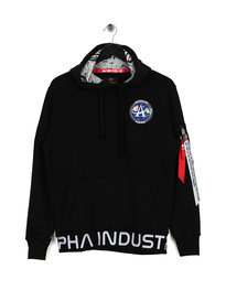 Alpha Industries Moon Landing Hoody Black