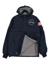 Alpha Industries NASA Anorak Jacket Blue