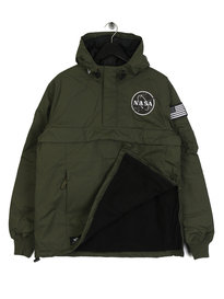 Alpha Industries NASA Anorak Jacket Green