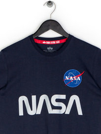 Alpha Industries NASA Reflective T-Shirt Blue