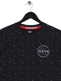 Alpha Industries Nasa Tape T-Shirt Navy