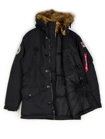Alpha Industries Polar Jacket Black