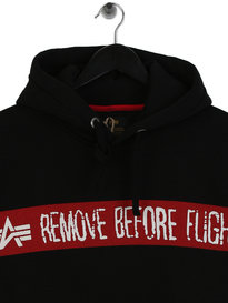 Alpha Industries RBF Hoodie Black