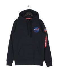Alpha Industries Space Shuttle Hoodie Black