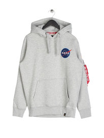 Alpha Industries Space Shuttle Hoody Grey