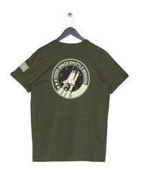 Alpha Industries Space Shuttle T-Shirt Green