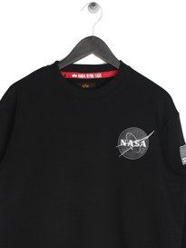 Alpha Industries Space Shuttle Sweater Black