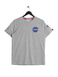 Alpha Industries Space Shuttle T-Shirt Grey